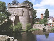 Whittington Castle, Shropshire, England, UK