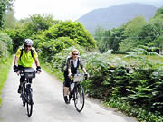 Cycling in Snowdonia, North Wales